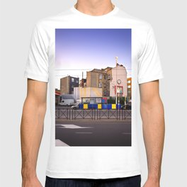 Sunset City Lights, Architecture Photography T-shirt