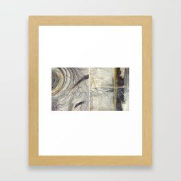 Behind Time Duo Framed Art Print