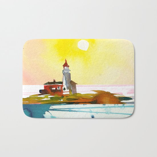 Seascape #6 Bath Mat