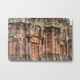 Banteay Srei Temple, Cambodia Metal Print