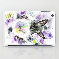 scarface iPad Cases featuring Daubie the fortune teller  by Psyca