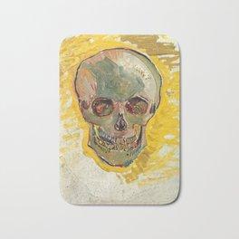 Skull by Vincent van Gogh, 1887 Bath Mat