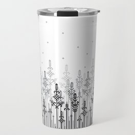 White field Travel Mug