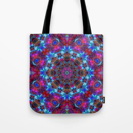 Fractal Floral Abstract G86 Tote Bag