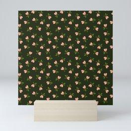 Jingle Balls, Christmas Holly and Testicles in Green Mini Art Print