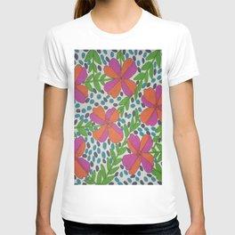 Jungle Rain Flowers T-shirt