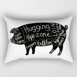 Cuts of Pig Rectangular Pillow