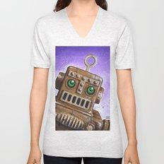 i.Friend: Steam Punk Robot Unisex V-Neck