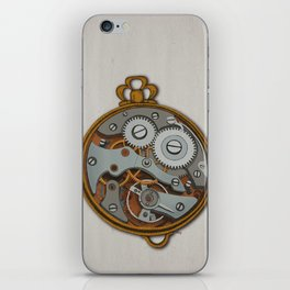 Pieces of Time iPhone Skin