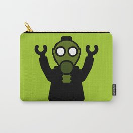 Apocalyse Minifigure wearing Gasmask by Customize My Minifig Carry-All Pouch