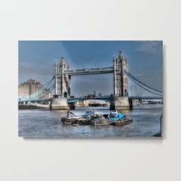 London Tower Bridge Metal Print