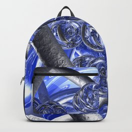 Macro Glass And Steel Bands Backpack