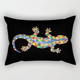 Vivid Barcelona City Lizard Rectangular Pillow
