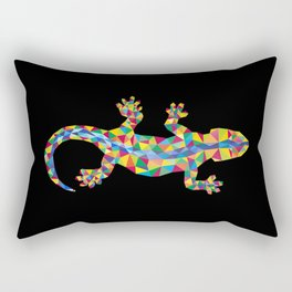 Vivid Barcelona City Lizard Rectangular Pillow