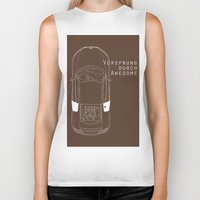 audi Biker Tanks featuring Vorsprung Durch Awesome by Salmanorguk