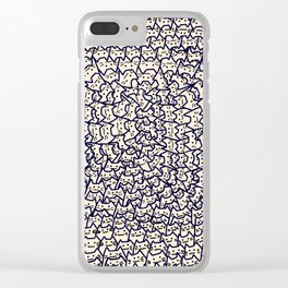 cat 250 Clear iPhone Case