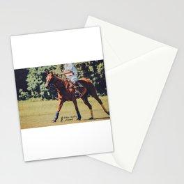 Chestnut Polo Pony Stationery Cards