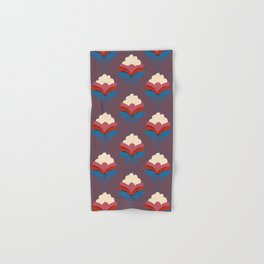Retro fall florals- n. 2 Hand & Bath Towel