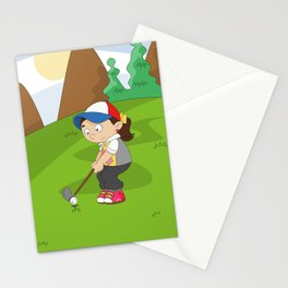 Non Olympic Sports: Golf Stationery Cards