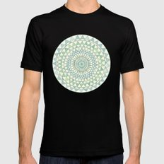 Doily MEDIUM Black Mens Fitted Tee