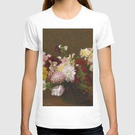 Henri Fantin Latour - Flowers T-shirt