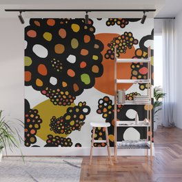atoms and molecules Wall Mural