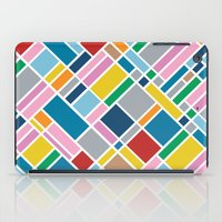 karu kara iPad Cases featuring Map Outline 45  by Project M
