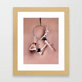 Double Lyra Framed Art Print