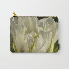 Double White Tulip by Teresa Thompson Carry-All Pouch