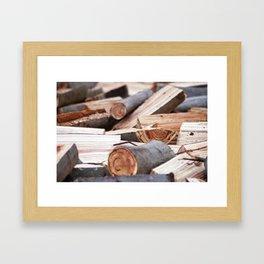 Wood, Madera Framed Art Print