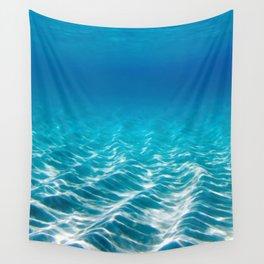 Aqua Blue Bliss Wall Tapestry