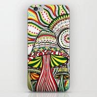 rasta iPhone & iPod Skins featuring Rasta by Marcela Caraballo