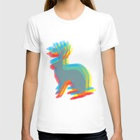 jackalope T-shirts featuring Jackalope by Glassy