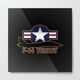 F-14 Tomcat Metal Print