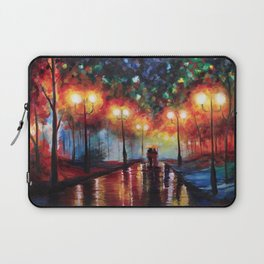 Ted and Tracy Mosby Laptop Sleeve