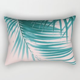 Palm Leaves Summer Vibes #1 #tropical #decor #art #society6 Rectangular Pillow