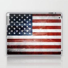 American Wooden Flag Laptop & iPad Skin