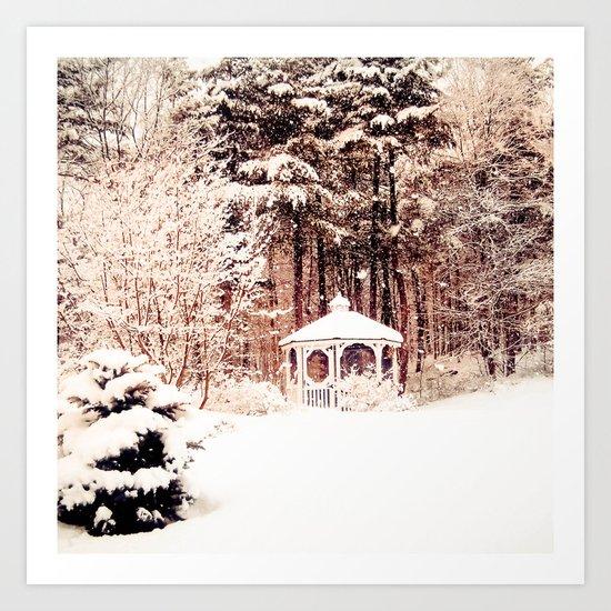 SnowEnchanted Art Print