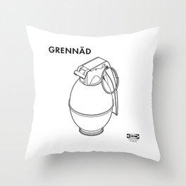 GRENNÄD Throw Pillow