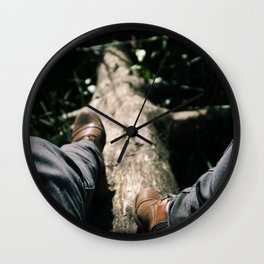 Over Troubled Waters Wall Clock
