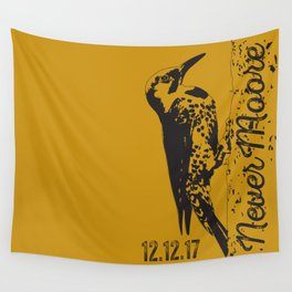 Yellowhammer NoMoore (Gold variation) Wall Tapestry