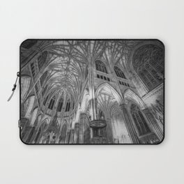 St Patrick's Cathedral New York Art Laptop Sleeve