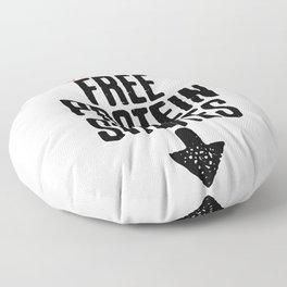 Boys Free Protein Shakes Floor Pillow
