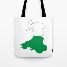 Wales and the Dragon Tote Bag
