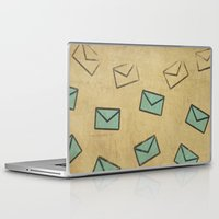 letter Laptop & iPad Skins featuring Letter by sinonelineman