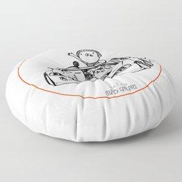 Crazy Car Art 0202 Floor Pillow