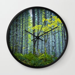 In the Woods Wall Clock