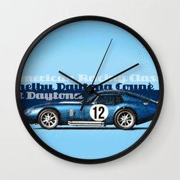 Shelby Daytona Coupe Wall Clock