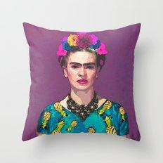 Trendy Frida Kahlo Throw Pillow