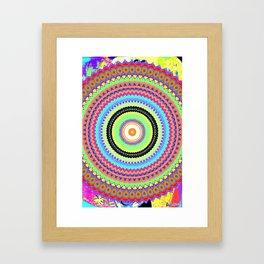 Kaleidoskop Framed Art Print